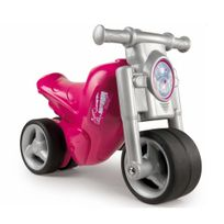 Smoby - Porteur Moto rose