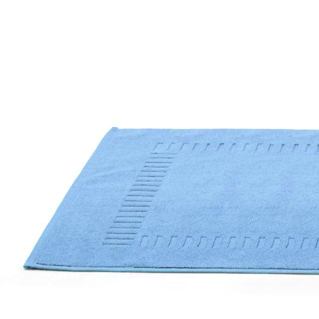 linnea tapis de bain 50x70 cm pure bleu ciel 700 g m2 multicolore pas cher achat vente. Black Bedroom Furniture Sets. Home Design Ideas