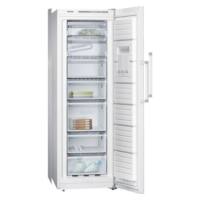 Siemens cong lateur armoire 60cm 220l a blanc - Congelateur armoire carrefour ...