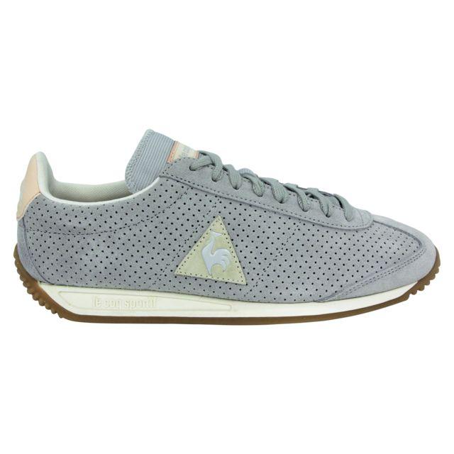 266fa5633b5 Le Coq Sportif - Le Coq Sportif Quartz Premium Chaussures Mode Sneakers  Homme