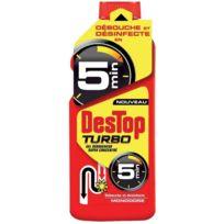 Destop - Déboucheur turbo de canalisation 1 litre
