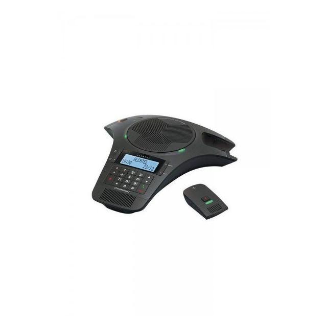 Alcatel Conference 1500 Der Alcatel Conference 1500 - Konferenzspinne mit Dect-Mikrofonen ist ein Produkt der Abschnitt Analoge Telefone - Telefone (schnurgeb.analog) des neuen Staates .