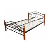 lit metal 140x190 achat lit metal 140x190 pas cher soldes rueducommerce. Black Bedroom Furniture Sets. Home Design Ideas