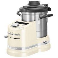 KITCHENAID - robot cuiseur multifonction 4.5l 1500w crème - 5kcf0104eac