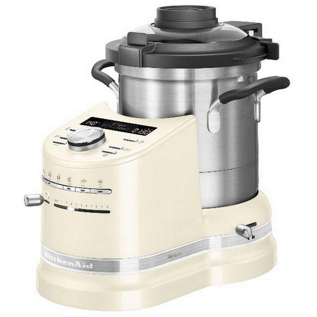 kitchenaid robot cuiseur multifonction 1500w cr me 5kcf0104eac achat robot multifonction. Black Bedroom Furniture Sets. Home Design Ideas