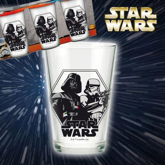 Kas Design Verres Star Wars - Lot de 3