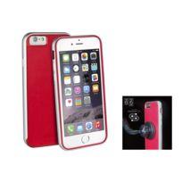 Uniq - AirCraft Plus'' iPhone 6 + support magnétique - Rouge