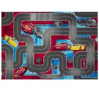 Worlds Apart - Tapis circuit Cars bleu et rouge Disney