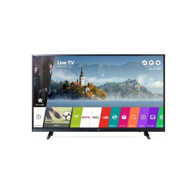 lg tv led 43 108 cm 4k 3x hdmi classe a smart tv pas cher achat vente tv led de 40. Black Bedroom Furniture Sets. Home Design Ideas