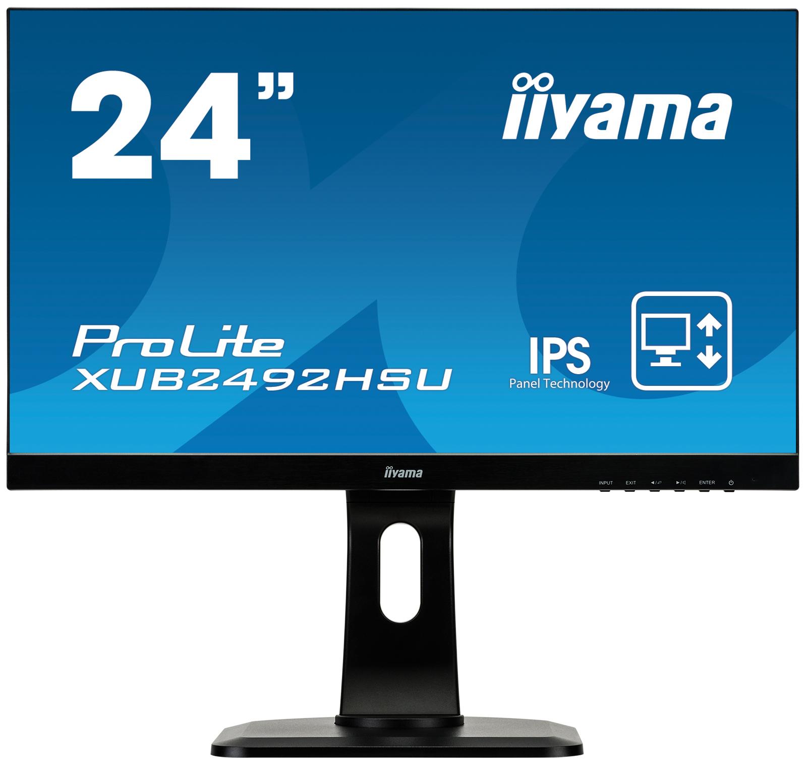 Ecran PC Multimédia ProLite XUB2492HSU-B1 24