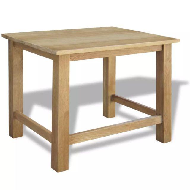 Icaverne - Bouts de canapé selection Tables gigognes trois pièces Chêne