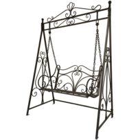 balancelle 2 places achat balancelle 2 places pas cher soldes rueducommerce. Black Bedroom Furniture Sets. Home Design Ideas