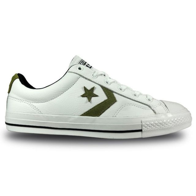 Converse - Chaussure star player cuir ox - pas cher Achat ...