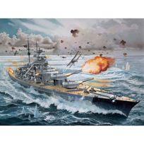 Revell - Maquette bateau : Cuirassé Bismarck