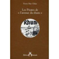 """Cartouche - les pirates de """"l'avenue du rhum"""