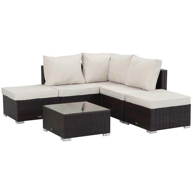habitat et jardin salon de jardin modulable en r sine tress e lima buffalo canap d 39 angle. Black Bedroom Furniture Sets. Home Design Ideas