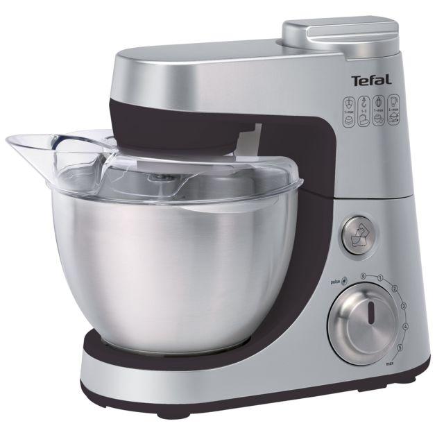 TEFAL Robot pâtissier Gourmet Silver + Blender Equinox - QB408D11 - Silver