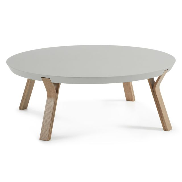 Kavehome Table basse Dilos, chene et gris