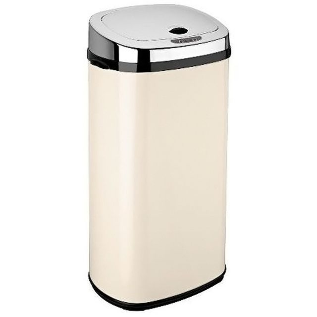 KITCHEN MOVE poubelle automatique 42l creme/inox - bat-42ls02a cream ss