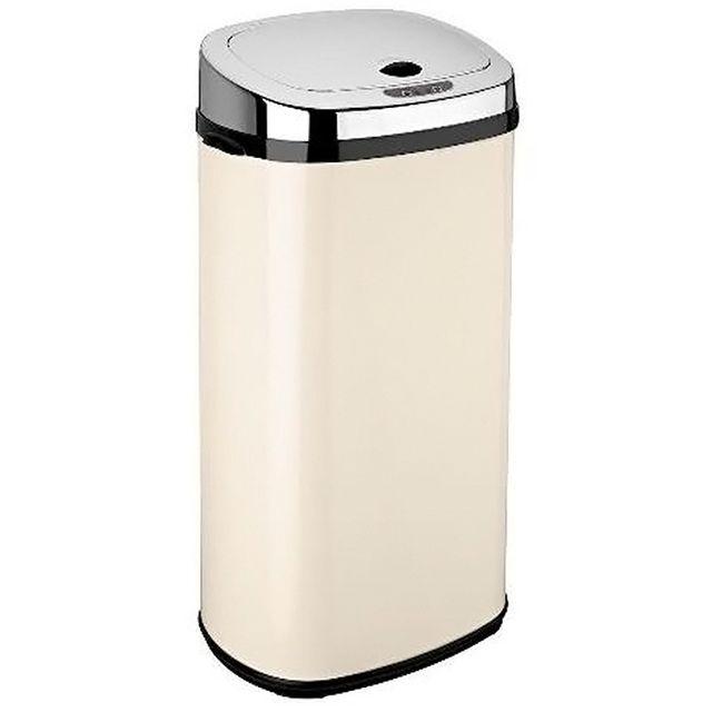 kitchen move poubelle automatique 42l creme inox bat 42ls02a cream ss pas cher achat. Black Bedroom Furniture Sets. Home Design Ideas