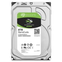 SEAGATE - Barracuda 3,5 8 To Sata III Cache 256 Mo