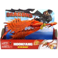Dragons - Hookfang - Dragon Action Rouge - Dream Works re:422