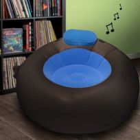 Kas Design - Pouf Gonflable Musical