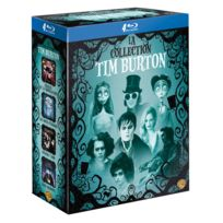 Coffret Blu-ray Tim Burton 4 films