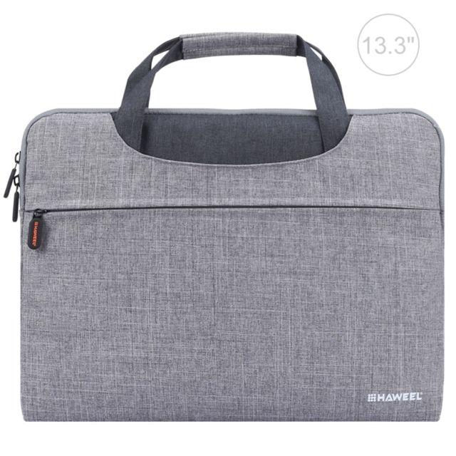 6ff6f53690 Wewoo - Sacoche ordinateur 13.3 pouces gris pour Macbook, Samsung, Lenovo,  Sony,