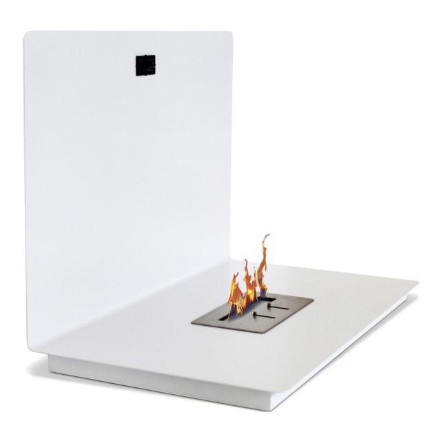 privatefloor chemin e bio thanol murale contemporaine blanc pas cher achat vente. Black Bedroom Furniture Sets. Home Design Ideas