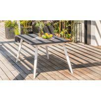 Table jardin beton - catalogue 2019 - [RueDuCommerce - Carrefour]