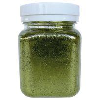 Oz International - salière de 100 g de poudre scintillante. coloris anis