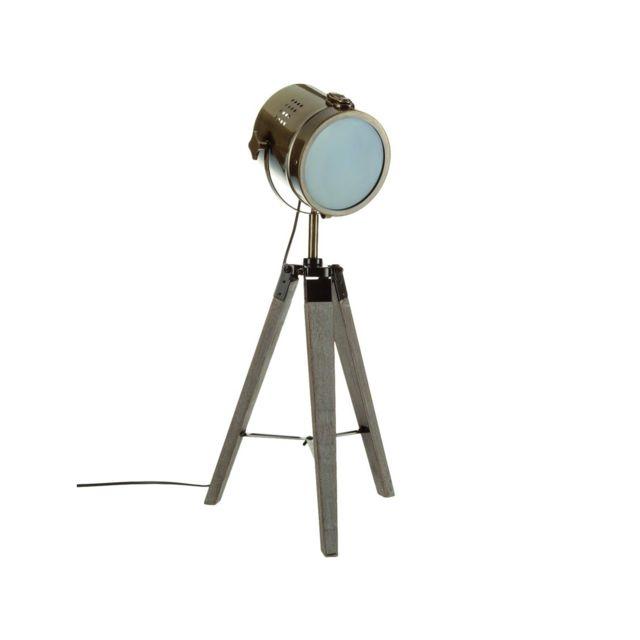 atmosphera lampe poser ebor pas cher achat vente. Black Bedroom Furniture Sets. Home Design Ideas
