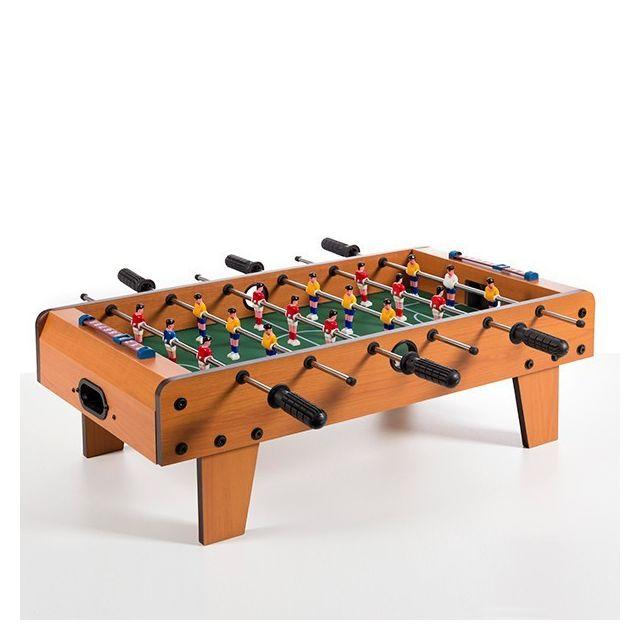 26b18401a59a53 Marque Generique - Babyfoot de table enfant 6 barres avec 2 balles - Jeux  football