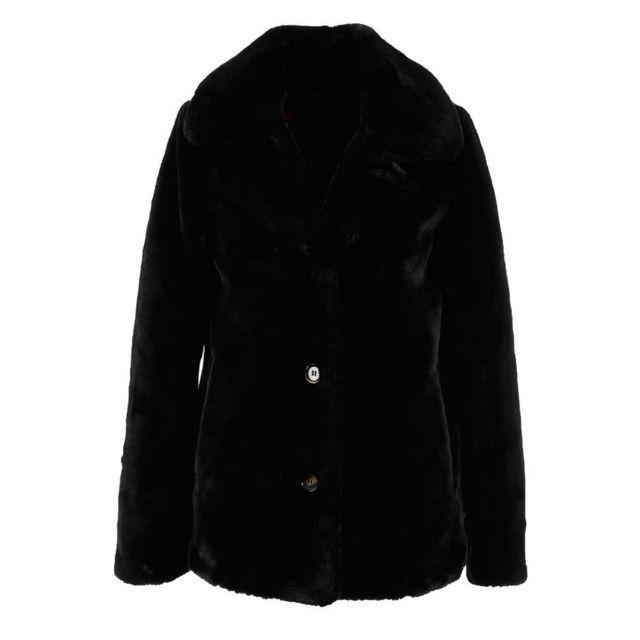 Oakwood - Manteau Dring Noir XL - pas cher Achat   Vente Blouson femme -  RueDuCommerce b2b882b4ac2e