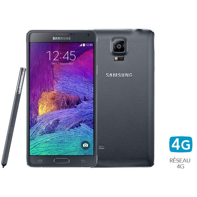Samsung - Galaxy Note 4 - Noir - 32 Go