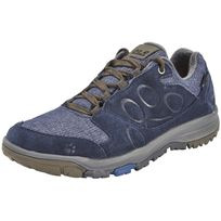 Jack Wolfskin - Vancouver - Chaussures - Texapore Low beige/bleu