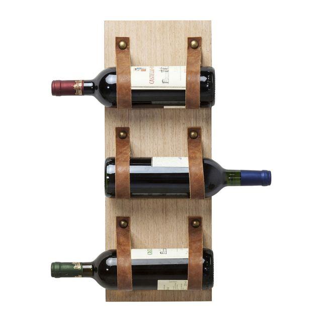 Karedesign Porte-bouteilles Wall Flap Tre Kare Design