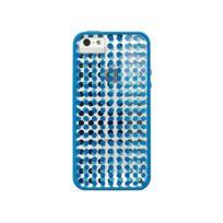 Xdoria - Coque Scene Plus iPhone SE - Pois bleu