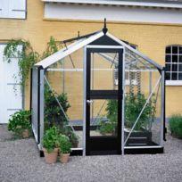 Juliana - Serre Compact en verre trempé 3 mm - Dimensions : 5.0 m²