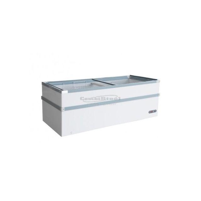 Combisteel Congélateur Professionnel Portes Coulissantes Vitrées - 530 L