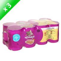 Whiskas - En Gelée 4 Variétés 8x380g -x3