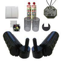 Wimove - Pack motorisation pour volets 2 battants Uranus Filaire - gond Ø 14 + 1 kit résine + 1 alimentation