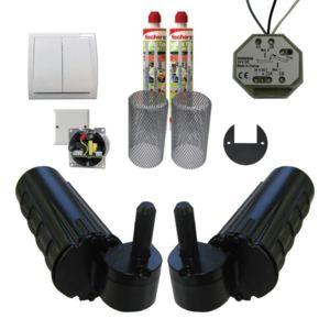 wimove pack motorisation pour volets 2 battants uranus. Black Bedroom Furniture Sets. Home Design Ideas