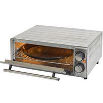 Kitchenchef - Kitchen chef - gp15alg - Four à pizza 1300w 31cm inox cooking