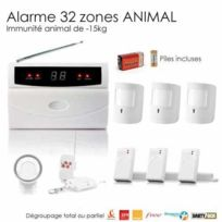 SecuriteGOODdeal - Alarme special animaux, 32 Zones Large