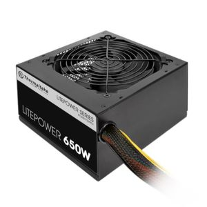 thermaltake alimentation litepower 650w obtenir dans. Black Bedroom Furniture Sets. Home Design Ideas