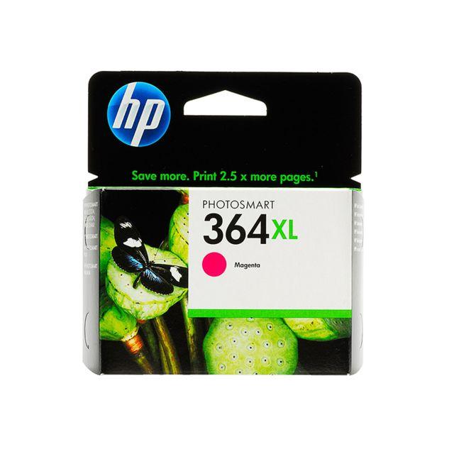 HP CB324EE - Cartouche d'encre 364XL Magenta Clair HP 364XL Cartouche d'encre Magenta grande capacité authentique pour HP Photosmart 5520/5522/5524/5525/6525/7520, HP Officejet 4620, HP Deskjet 3520