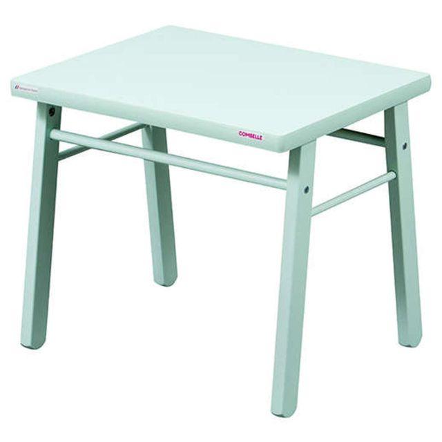 Combelle Table Enfant - laqué vert mint