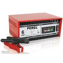 Perel - Chargeur Pour Batterie À Acide De Plomb - 12 V - 6 A
